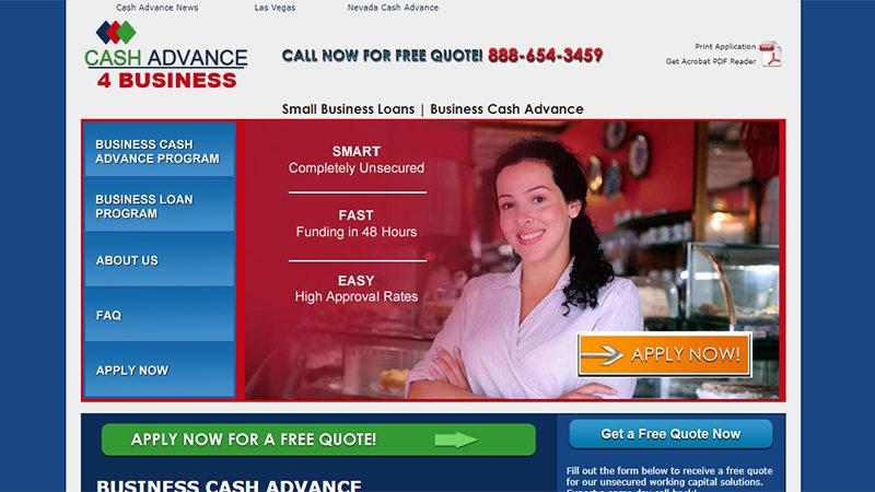 Cash Advance 4 Business