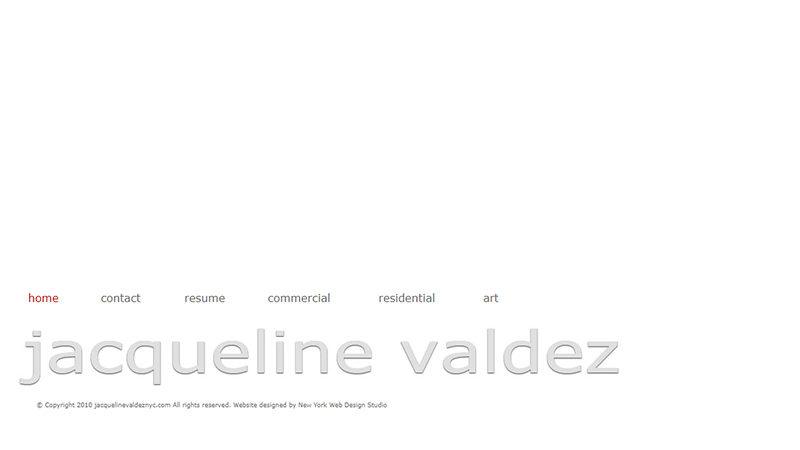 Jacqueline Valdez, Interior Designer