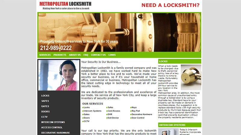 Metropolitan Locksmith, NYC