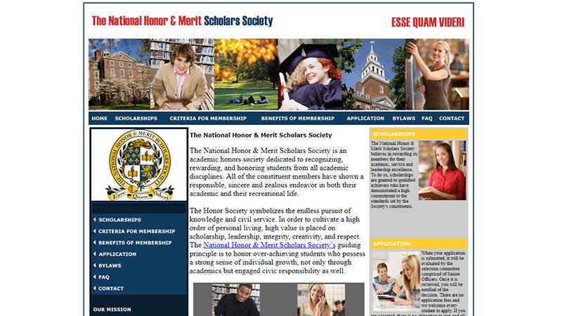 The National Honor & Merit Scholars Society