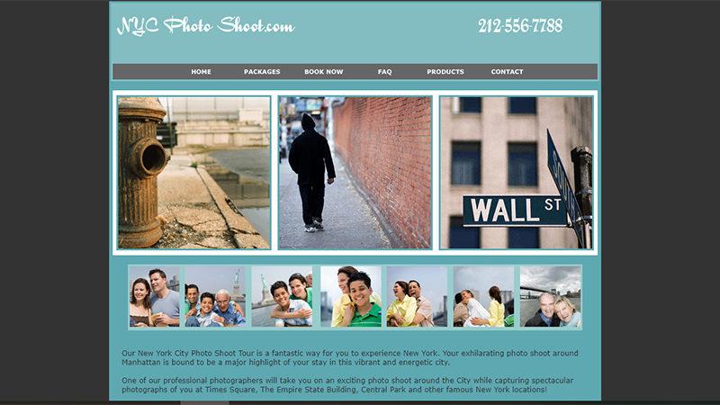 NYC Photo Shoot Tour