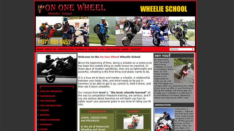 On One Wheel, Wheelie School