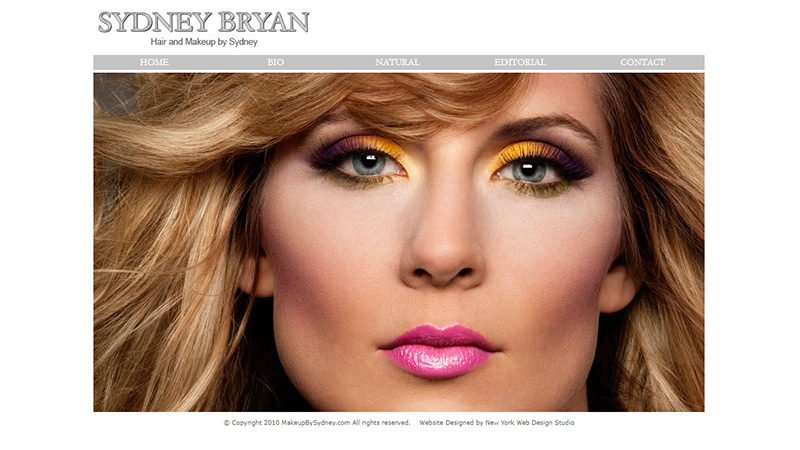 Makeup by Sydney Bryan