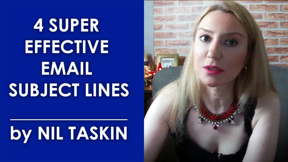 4 Super Effective Email Subject Lines You Need To Try